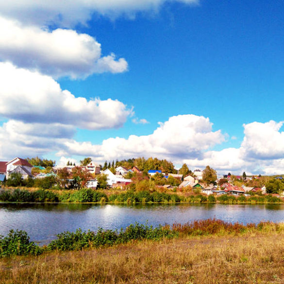 Russian Countryside: small town