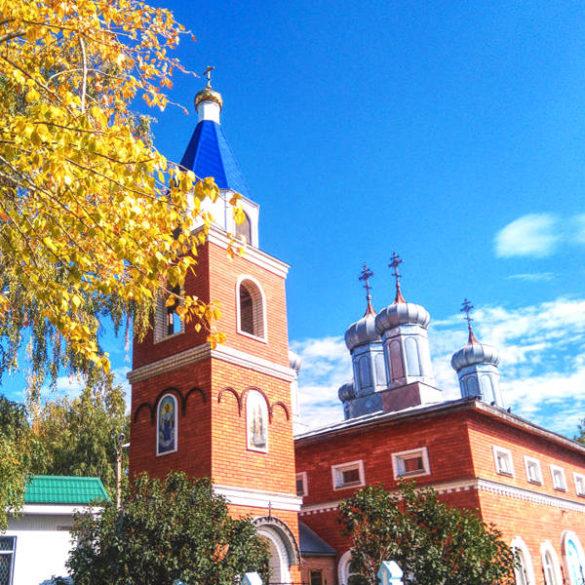 Russian countryside: Orthodox church