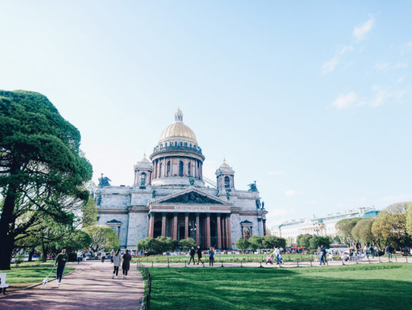 St. Isaac's Cathedral St. Petersburg Russia