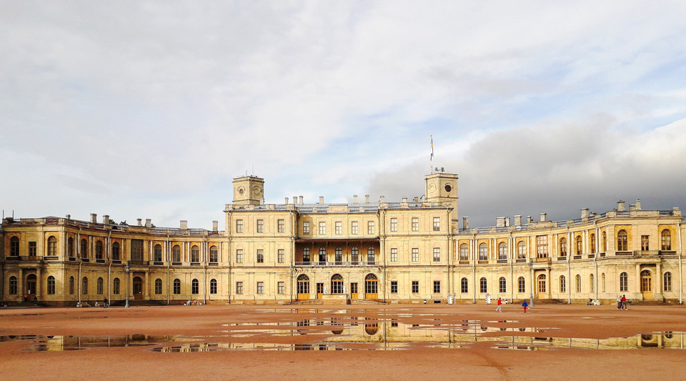 Gatchina Palace in Saint Petersburg, Russia