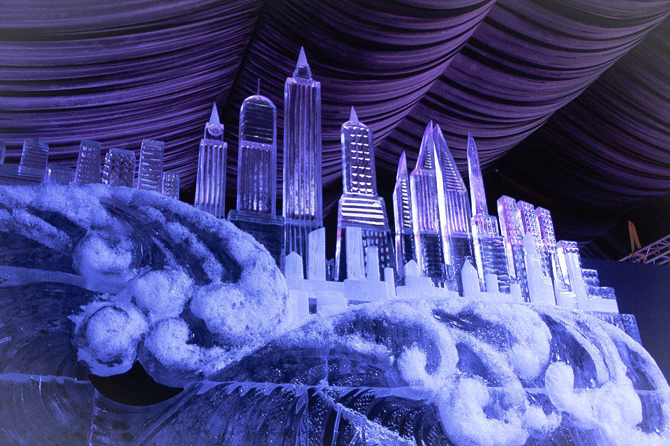 Ice sculpture festival in St. Petersburg : New York city