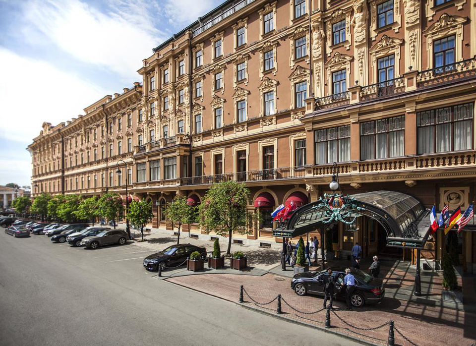 Hotels in St. Petersburg, Russia