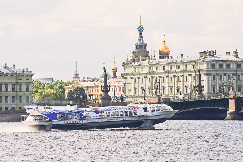 Hydrofoils in Saint Petersburg