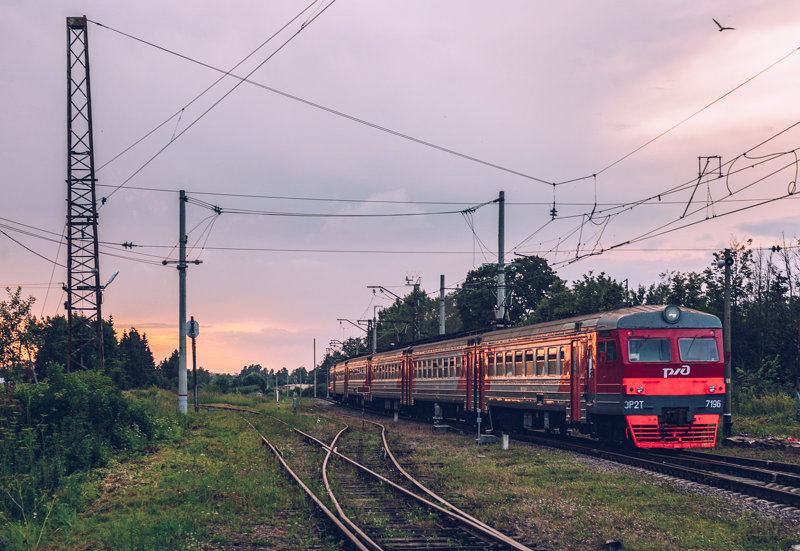 Saint Petersburg suburban trains