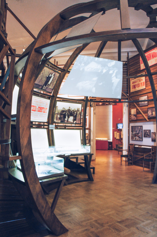 Exhibition of the Museum of Theatre dedicated to the XX century theatre