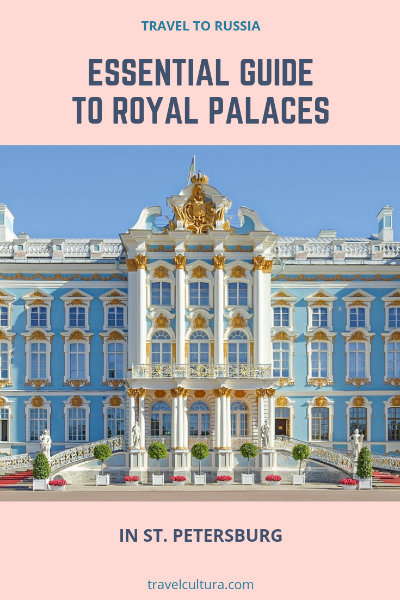 Royal palaces in St. Petersburg, Russia