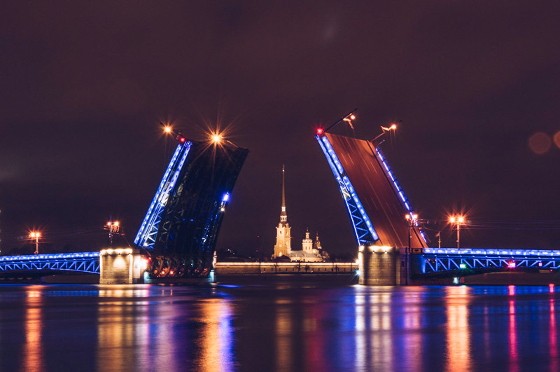 Thing to do in Saint Petersburg: music show Singing Bridges
