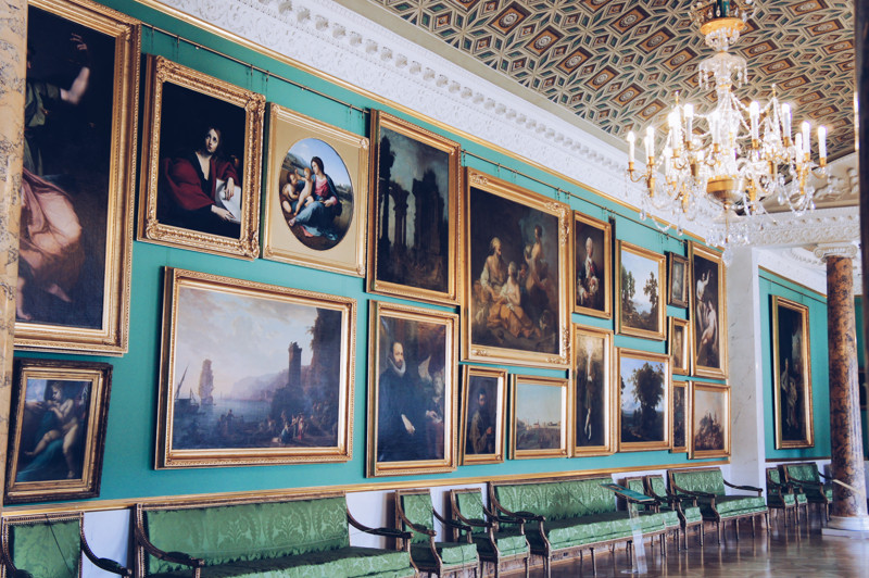 Picture Gallery in the Stroganov Palace