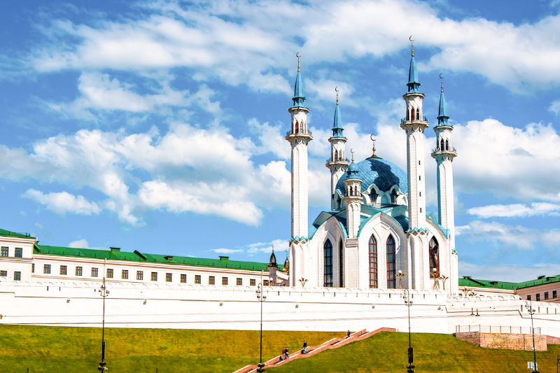 Kul-Sharif Mosque in Kazan, Russia