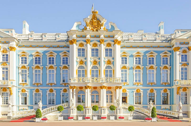 Tsarskoye Selo and Catherine Palace