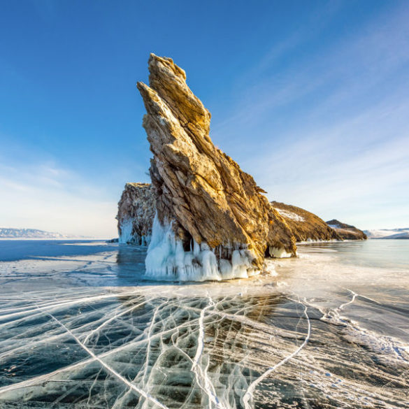 Photo of places to visit in Russia : Lake Baikal