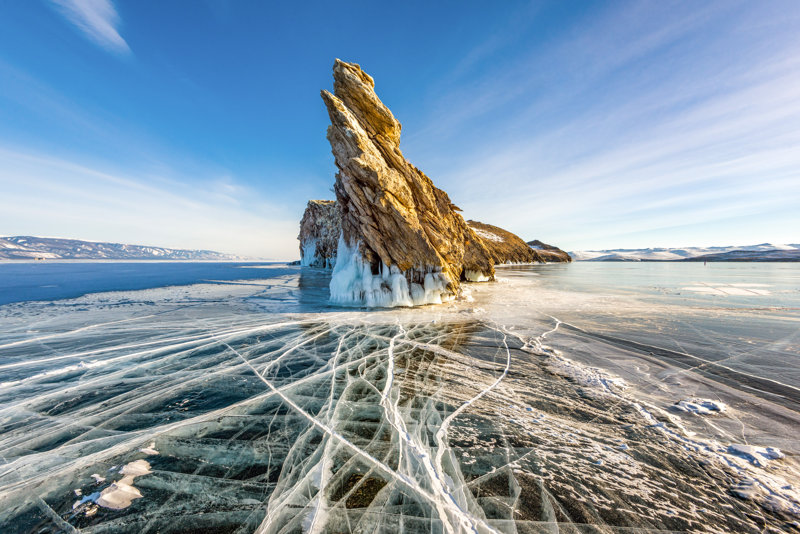 Lake Baikal is a must-see place in Russia