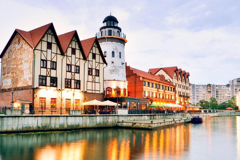 Visit Kaliningrad, Russia