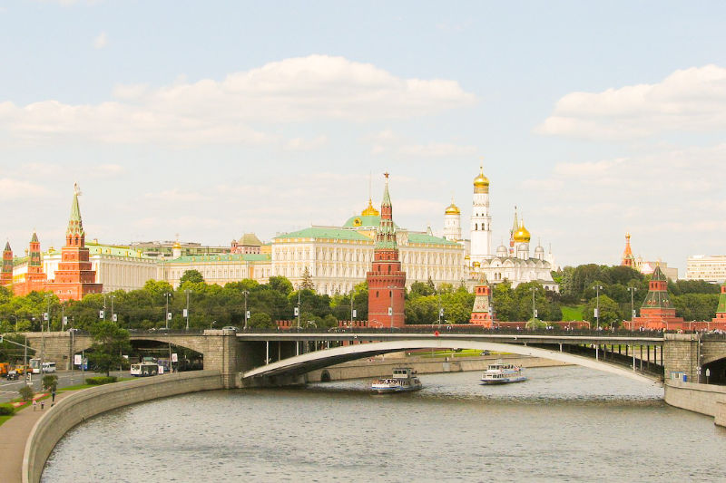 Places to visit in Russia : Moscow