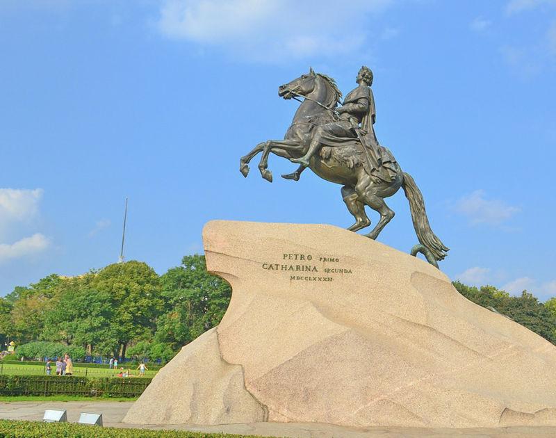 Bronze Horseman, St. Petersburg, Russia