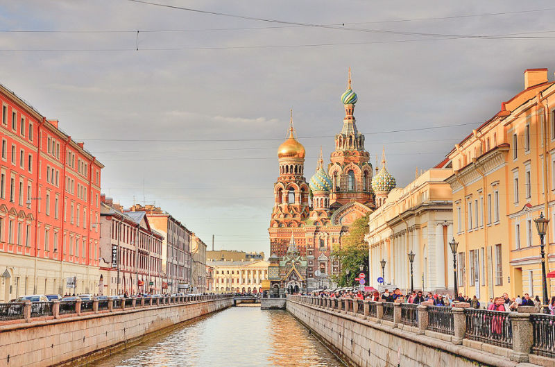 Church of the Saviour on the Spilled Blood is the most known St. Petersburg church