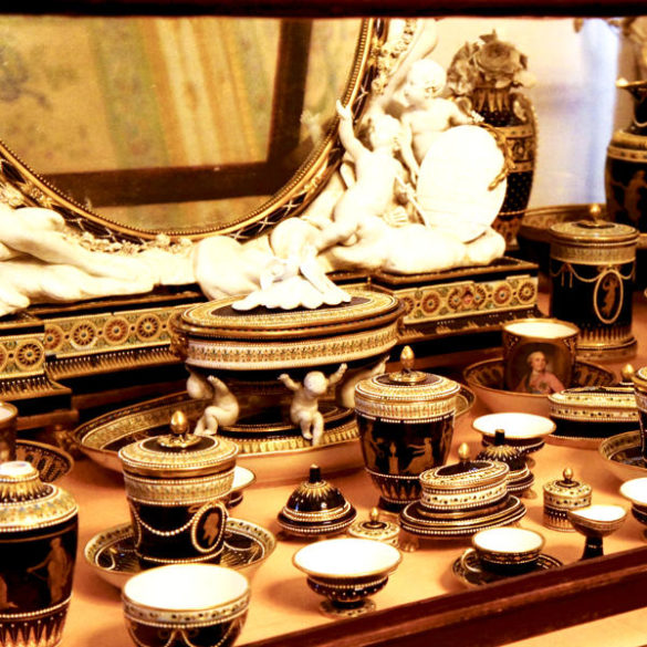 Porcelain collection of the Pavlovsk Museum