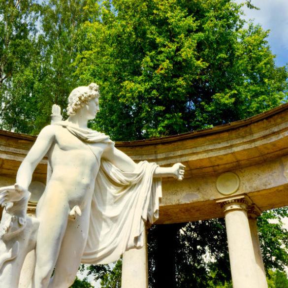 Pavlovsk Museum : Colonnade of Apollo