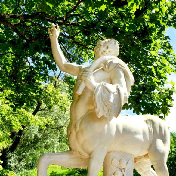 Pavlovsk Museum : park around the palace