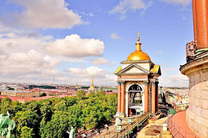 Things to do in St. Petersburg : watch the city from above