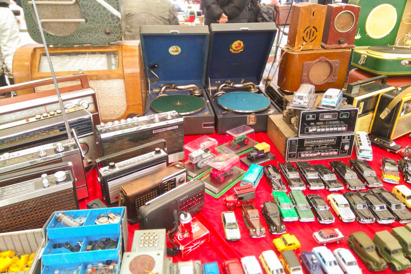 Things to do in St. Petersburg : shop for vintage souvenirs at Udelnaya Flea Market