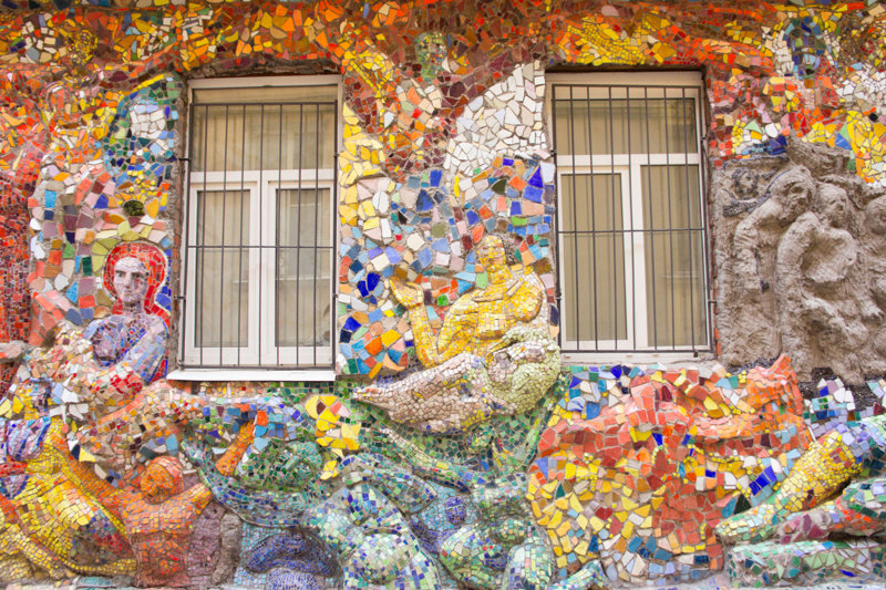 Things to do in St. Petersburg : visit mosaic yard
