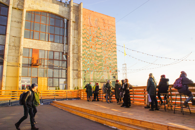 Things to do in St. Petersburg :watch a sunset on Sevkabel Port