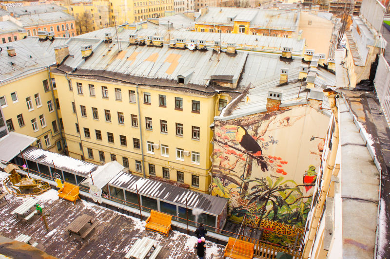 Things to do in St. Petersburg : climb to a rooftop terraсe