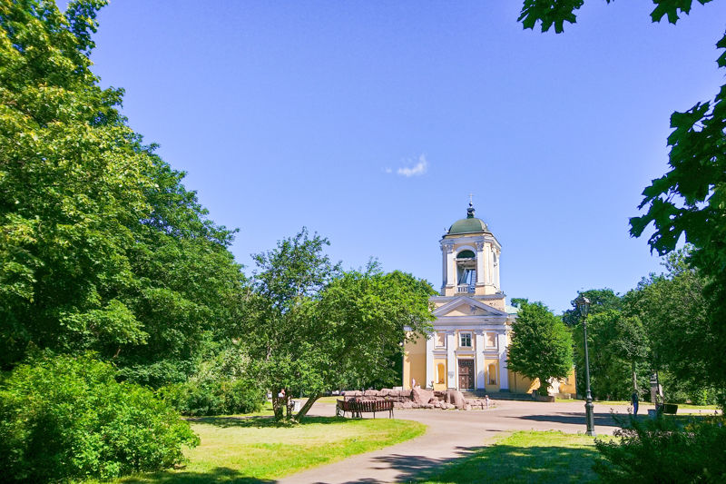 Summer is a great season for visiting Vyborg
