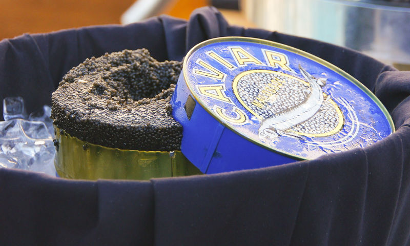 What to buy in Russia : black caviar