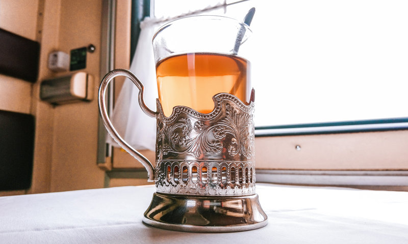 Russian souvenir : tea-glass holder