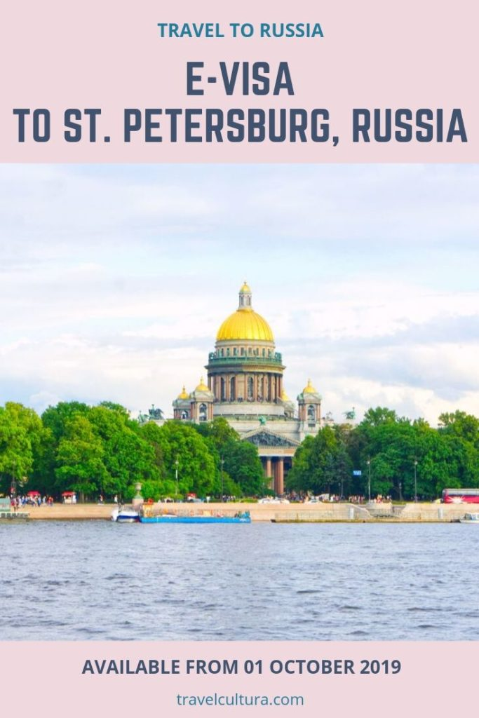 E-visa to St. Petersburg, Russia is available from 01 October 2019. Check who and how can apply for it #russia #travelrussia #russiatravel #stpetersburg #stpetersburgrussia #traveldestinations