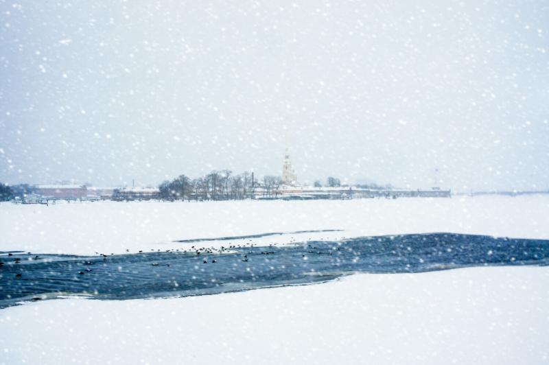 Winter Holidays in Saint Petersburg, Russia