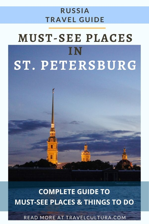 Must-see places in Saint Petersburg, Russia — complete guide to the main attractions of Saint Petersburg #russia #russiatravel #stpetersburg #saintpetersburg