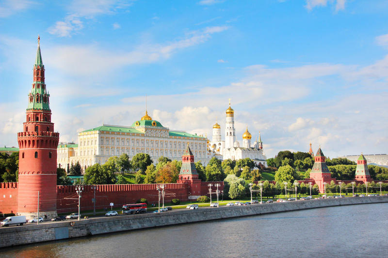 The Kremlin is one of the most popular places to visit in Moscow