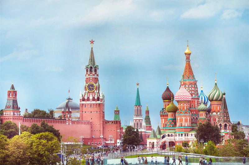 Red Square in Moscow is a must-see place