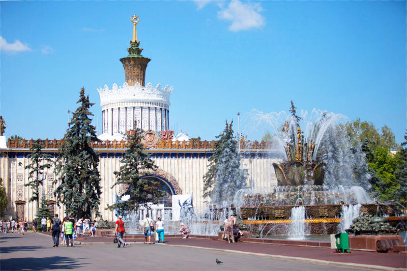 Places to visit in Moscow: exhibition center VDNKH