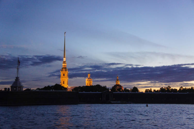 Peter and Paul Fortress in St Petersburg, Russia