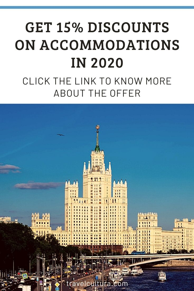 Are you planning to travel in 2020? Check new travel offer and get 15% discounts on accommodations. The offer is available in many countries.