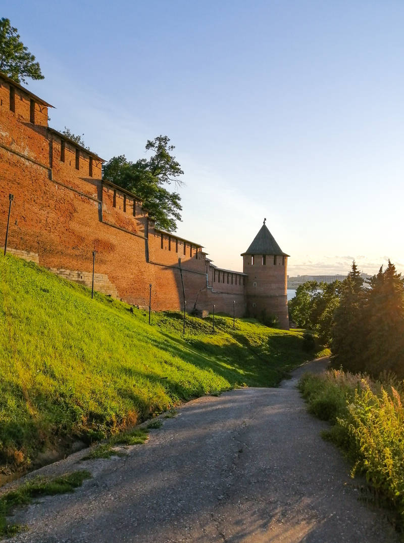 Nizhny Novgorod is a good idea for a summer trip in Russia