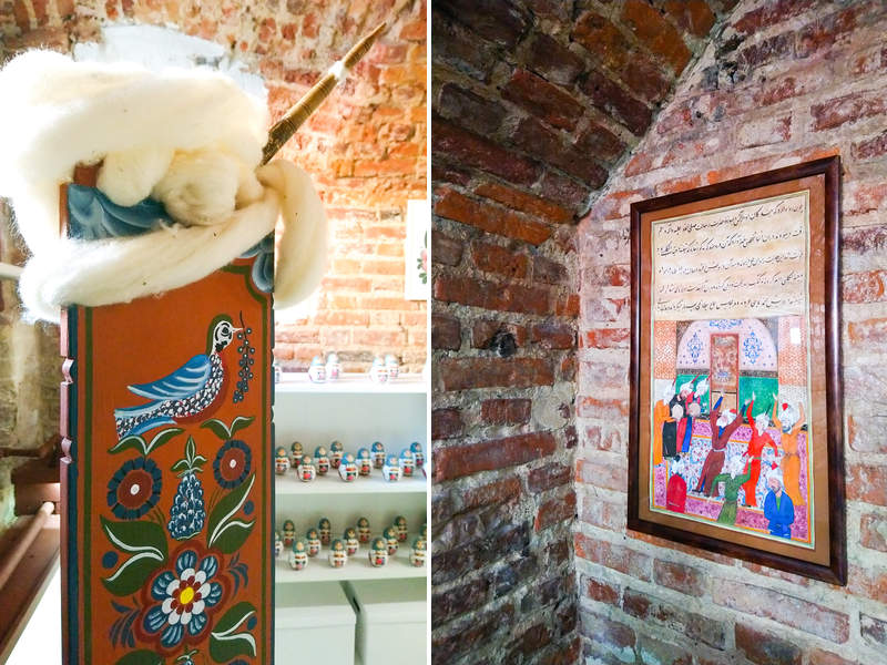 """Russian souvenirs in St Petersburg: art gallery """"Masters' Line"""""""