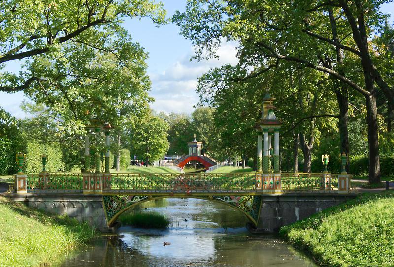 Alexander Park in Tsarskoe Selo