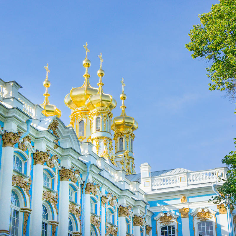 Palace church in the Catherine Palace