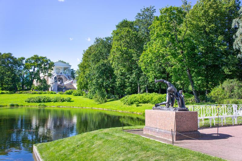 Catherine Park in Pushkin, suburb of St Petersburg