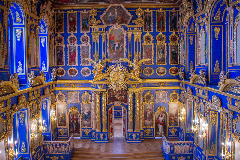 Palace Chapel in the Catherine Palace