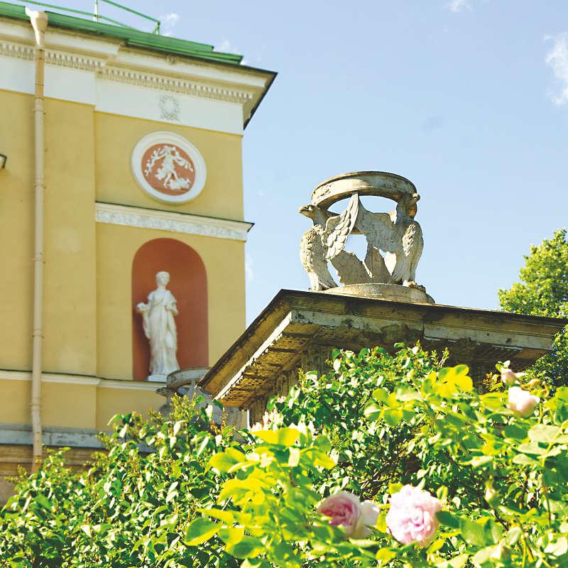 Catherine Park in Tsarskoe Selo (Saint Petersburg, Russia)