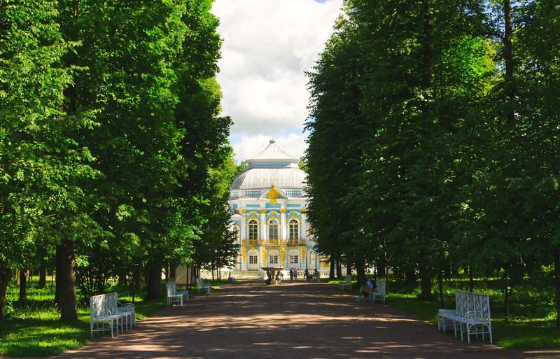 Hermitage Pavilion in Tsarskoe Selo