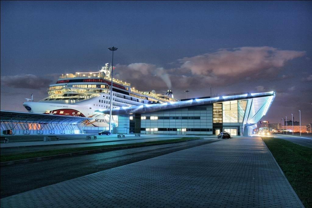 Maritime Façade, the main passenger port of St Petersburg