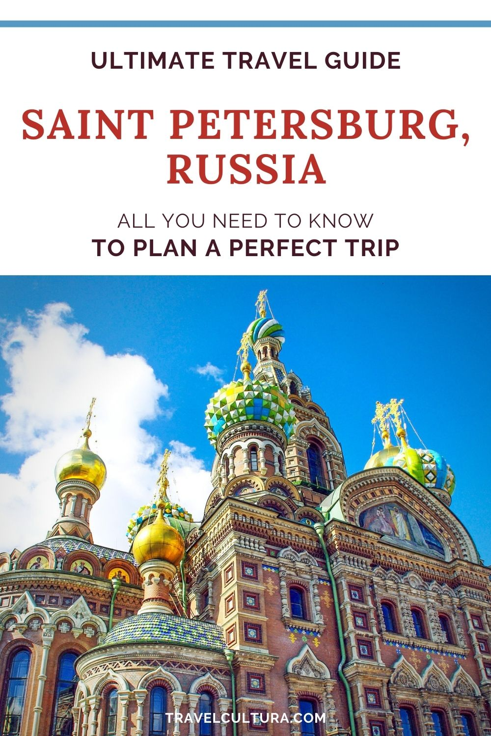 Travel guide to St Petersburg city