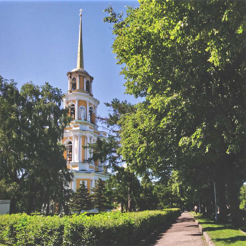 Summer day in Ryazan